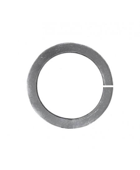 Metalowe kółko fi100 z pręta 10x10