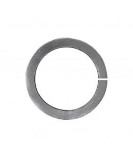 Stalowe kółko fi120 mm wykonane z pręta 10x10.