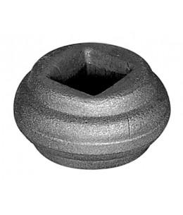 Przekuwka z otworem kwadratowym 16,5 wymiary: 22x40