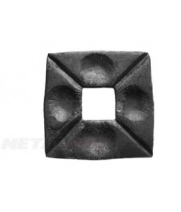 Maskownica otwór 12x12 wymiary 50x50/6