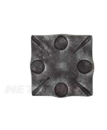 Maskownica kuta kwadratowa 120x120mm  gr 8