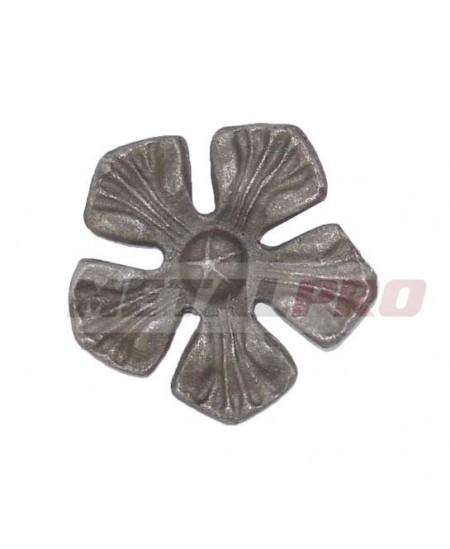 Kwiat metalowy ozdobny Fi90/5