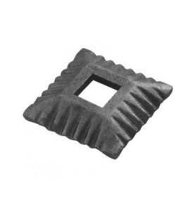 Maskownica kuta, H17, 80x80 gr.4, otwór 25,5x25,5