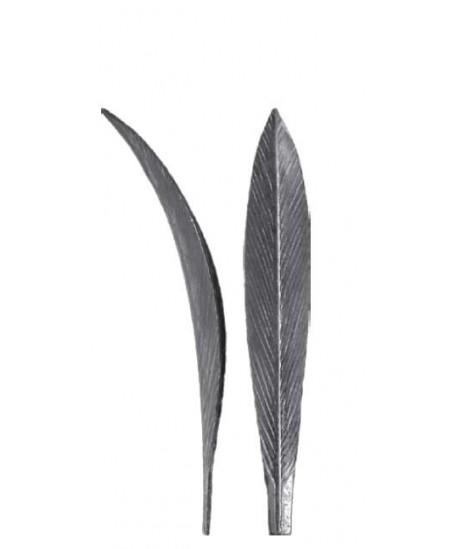 Liść tulipana stalowy
