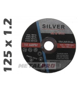 125x1,2 tarcza do ciecia SILVER