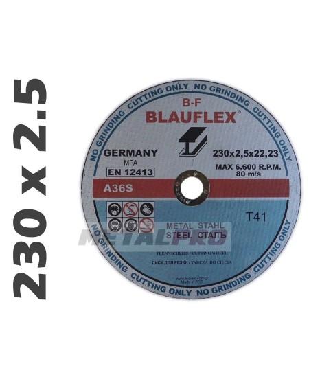 230x2,5 tarcza do ciecia BLAUFLEX